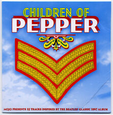 MOJO - Children of Pepper - 15-track Beatles-inspired psych CD