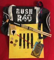 RUSH Band R40 VIP 5 Pce Collection Geddy Lee Neil Peart Alex Lifeson