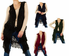 Markenlose ärmellose Damen-Pullover & -Strickware Normalgröße