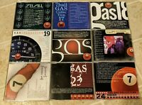 7Ball Gas Collection Vol 16-24 9 CD Promo Lot Rock Hip Hop Music Magazine OOP