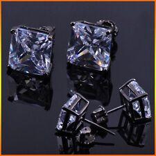 Mens & Ladies Lab Simulated Diamond Screw Back Stud Earrings 1.25 Carat 4mm