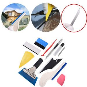 Automotive Window Tint Film Pasting, Vinyl Sticker Install Squeegee Scraper Tool