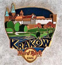 HARD ROCK CAFE KRAKOW GREETINGS FROM GUITAR PICK SERIES PIN # 98490