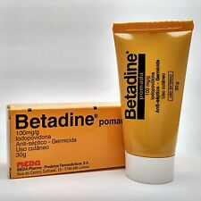 Betadine Ointment 30g Iodine Povidone Antiseptic Skin Infections Wounds
