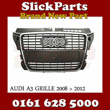 AUDI A3 GRILLE CHROME FRAME 2008 2009 2010 2011 2012 (NOT S-LINE) *NEW*