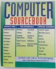 Computer Sourcebook Alfred emily Glossbrenner Paperback 1997 book