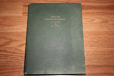 RARE Antique 1906 FINE ARTS SOCIETY OF DETROIT minutes book Founding information