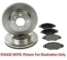 For Subaru Legacy Impreza Forester Eicher Front Brake Kit Discs Pads Akebono Sys