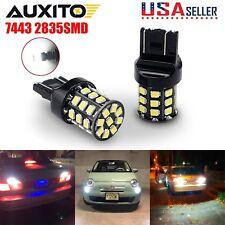 AUXITO 2x 2835 33SMD 7443 7440 6000K White LED Back Up Reverse Light Backup Bulb