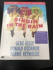Singing Singin In The Rain 2 Disc Dvd Special Debbie Reynolds Gene Kelly Vg