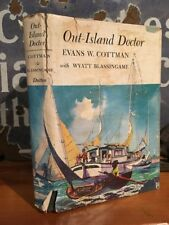 """Rare """"Out-Island Doctor"""" Evans Cottman 1963 First Edition Hardback w/ Jacket"""