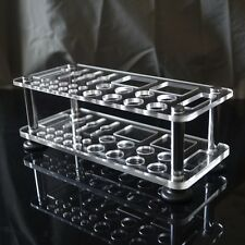26 holes Acrylic Shelf Tool Stand For leathercraft Tools handmade Screw Driver