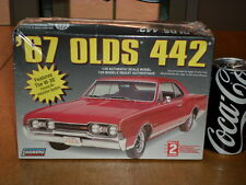 1967 OLDS 442 / W-30 Forced Air System, Plastic Model Kit ,Scale 1/25