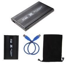 """Boîtier Externe USB 3.0 avec USB 3.0 Câble Cordon pour 2.5"""" SATA Disques Durs"""