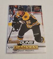 B3,936 -  2019-20 Upper Deck Canvas #C119 Trent Frederic Young Guns Rookie