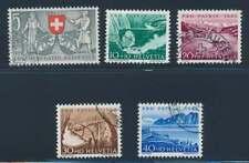 Schweiz Nr. 580-584 gestempelt, Pro Patria 1953 (39120)