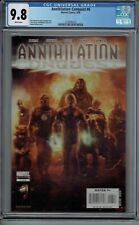 CGC 9.8 ANNIHILATION CONQUEST #6 NEW GUARDIANS OF THE GALAXY 1ST APP WHITE PGS
