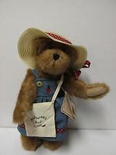 "Boyds #910063 ""Martha McBruin"" 10"" Bear * Gardners Sow Love"