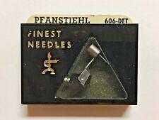 PICKERING D200, 4500-ATE  NEEDLE IN PFANSTIEHL PKG 606-DET, GENUINE PICKERING