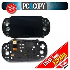 Pantalla completa original marco frontal LCD+TACTIL PS VITA 1000 display PSVITA