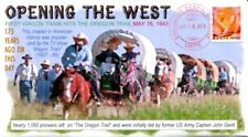 COVERSCAPE computer generated 175th of 1st Wagon Train on Oregon Trail cover