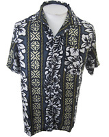 Koko Knot vintage Men Hawaiian camp shirt pit to pit 21 L fits like S-M floral