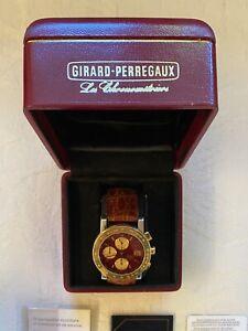 Orologio Girard Perregaux Cronografo 7000 GBM Acciaio/Oro 38 mm automatico RARO!