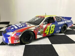 AUTOGRAPHED 1:24 Jimmie Johnson #48 Power of Pride 2003 Chevrolet #36C of 694
