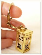 RETRO 1980's TWO DICE SOUVENIR KEY RING f/ GOOD LUCK !!! VISIT MY STORE !!!
