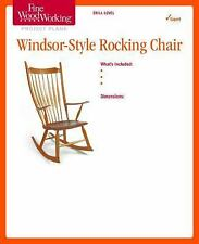 Fine Woodworking's Windsor-Style Rocking Chair Plan by Editors of Fine...