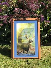 "Snap On Tools Deer Outdoors Hunting Beer Bar Man Cave Pub Mirror ""New"""