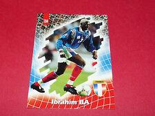 IBRAHIM BA IBOU EQUIPE FRANCE 98 BLEUS PANINI FOOTBALL CARD 1998
