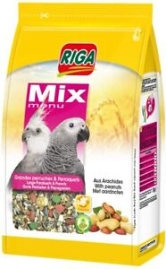 ✅ Mangime Alimento Mix Completo per Uccelli Parrocchetti e Pappagalli 2 kg