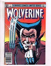 Wolverine # 1 NM DC Marvel Comic Book 1st Solo Issue Frank Miller X-Men KEY HJ4