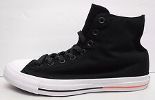 Converse Size 10 Black Hi Tops All Star Sneakers New Mens Shoes