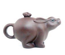 YiXing Zisha Clay *Rabbit* Teapot Baby Rabbit Lid Tea Brewing Home Decor 175ML