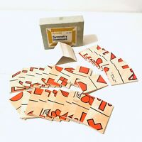 Vintage Arnold Symmetry Dominoes Made In England Boxed With Instructions Rare