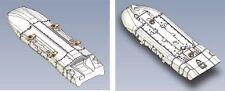 Pylone d'emport bi-bombes AUF2 pour Mirage F-1 / 2000 1/48