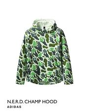 New Adidas X N.E.R.D. Champ Hoodie Green Camo Size Medium Soldout Complexcon