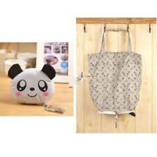 Lightweight Shopping Bags Reusable Storage Handbag Cute Foldable Shopping Totes