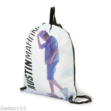 Austin Mahone Girls Drawstring Backpack Bag Book Sack One Size