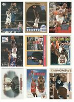 x173 Different MICHAEL JORDAN Basketball cards lot Rookie RP Topps Hoops Promos+