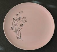 Taylor Smith Taylor TST Versatile Pink Thistle Dinner Plate EUC