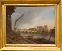 Large 18th Century London Thames River Westminster Bridge Joseph FARINGTON