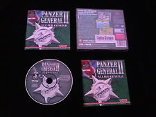 JEU Sony PLAYSTATION PS1 PS2 : PANZER GENERAL II ALLIED GENERAL (complet, suivi)