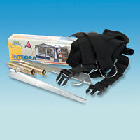 INTEGRA AWNING TIE DOWN KIT STORM STRAP- CLIP IN - CARAVAN ACCESSORIES