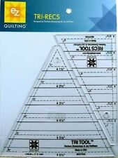 EZ Quilting Tri-Recs Ruler Set :2 ruler set
