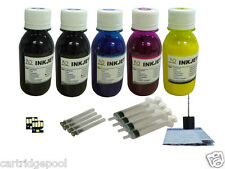Refill pigment ink kit with chip for Kodak 30 Hero 3.1 4.2 5.1 5x4oz/s 2chip