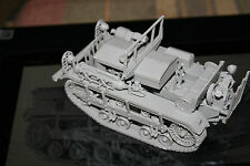 "1/35 WW II US M2 High Speed Tractor ""CLETRAC"" complete Resin Model Kit"