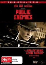 Public Enemies ( 2 DVD Special Edition ), Like New , R 2+4+5, Fast Post....3379*